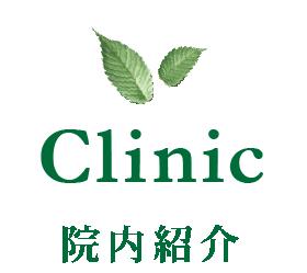 Clinic - 院内紹介 -